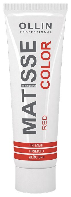 Краситель прямого действия OLLIN Professional Matisse Color, красный — купить по выгодной цене на Яндекс.Маркете