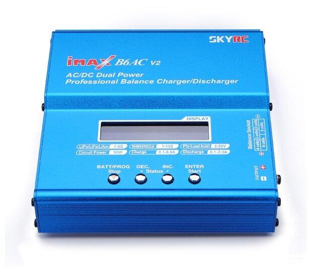 Зарядное устройство универсальное SKYRC IMAX B6AC V2 (220V 50W C:6A D:2A)