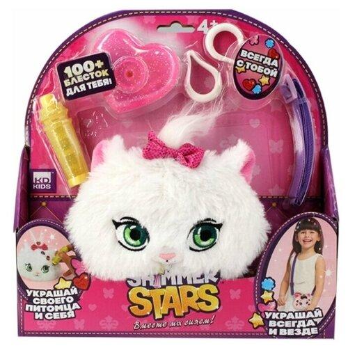 Игрушка-сумка Shimmer Stars плюшевый котенок 12 см shimmer stars мягкая игрушка shimmer stars плюшевый котенок 20 см
