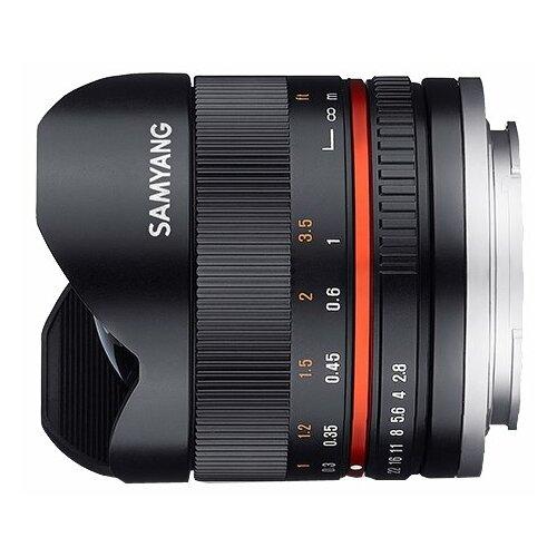 Фото - Объектив Samyang 8mm f/2.8 UMC Fish-eye II Sony E черный bushing 8mm