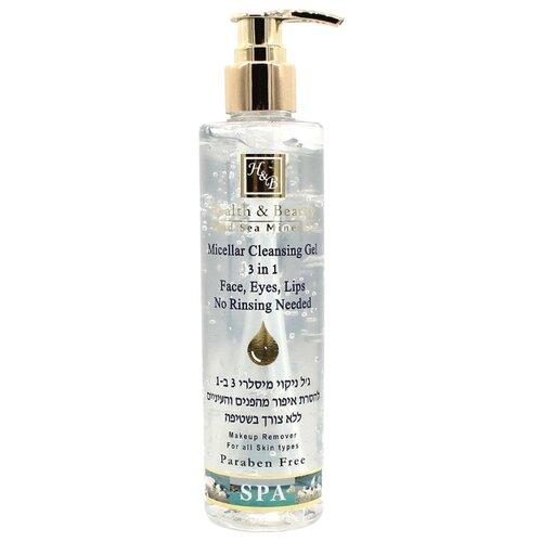 Купить Health & Beauty гель мицеллярный очищающий для лица, глаз и губ Micellar Cleansing Gel 3 in 1, 250 мл