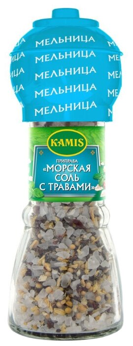 KAMIS Соль морская с травами, 78 г