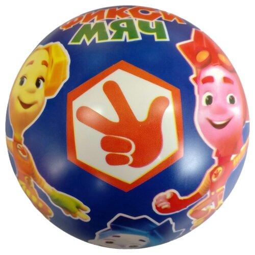 Мяч Играем вместе Фиксики синий/желтый/розовый