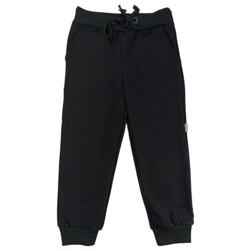 Спортивные брюки Папитто размер 104, черный