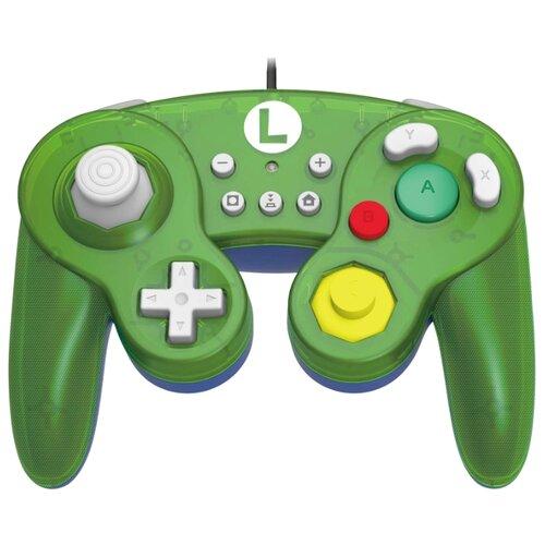 Геймпад HORI Battle Pad Luigi зеленый