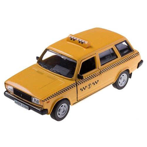 цена на Легковой автомобиль Autotime (Autogrand) Lada 2104 такси (32681) 1:36 11 см желтый