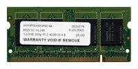 Оперативная память 512 МБ 1 шт. Hynix DDR2 533 SO-DIMM 512Mb