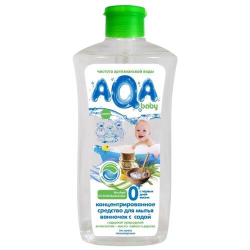 AQA baby гель для мытья ванночек с содой 0.5 л