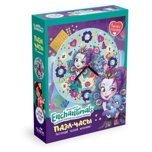 Купить Часы-пазл Origami Enchantimals Павлин (5069), 77 дет., Пазлы