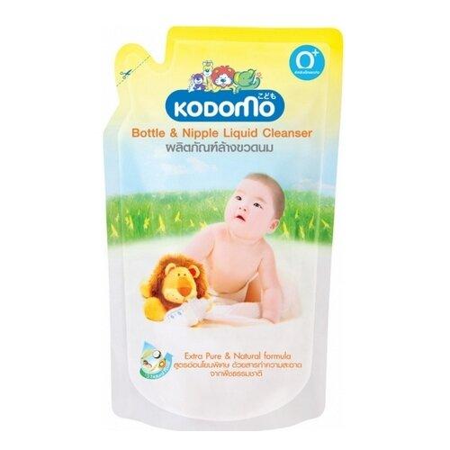 KODOMO Средство для мытья детских бутылочек и сосок 0.6 л сменный блок midzumi kodomo