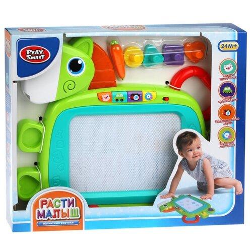 Доска для рисования детская Play Smart 7841 зеленый набор для рисования play doh необычное яйцо cpdo062