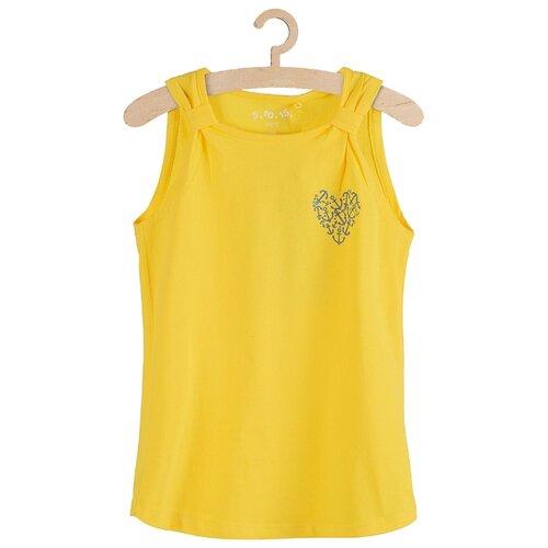 Купить Майка 5.10.15 размер 92, желтый, Футболки и рубашки