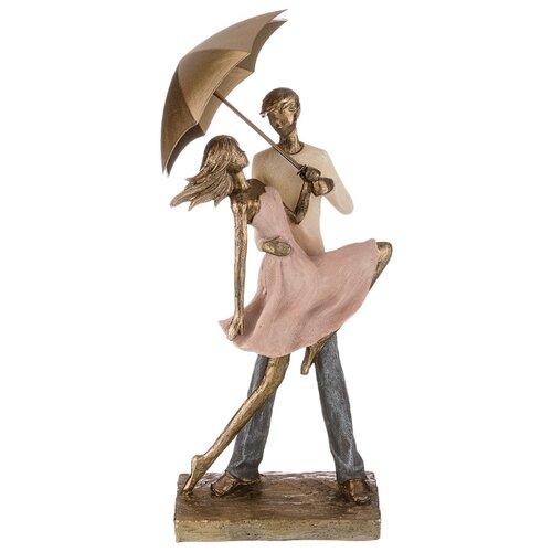 Фото - Статуэтка влюбленные Lefard 15*8,5*38 см серия Фьюжн (162-730) статуэтка lefard йога серия фьюжн 13 5х7х18 5 см 162 700