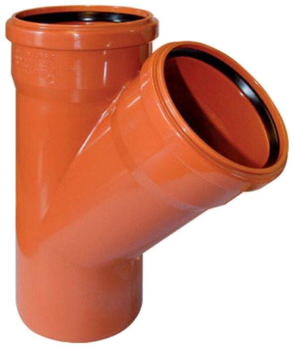 Тройник для наружной канализации POLYTRON TERRA PPH70111145