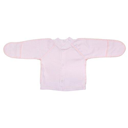 Распашонка Клякса размер 50, розовый