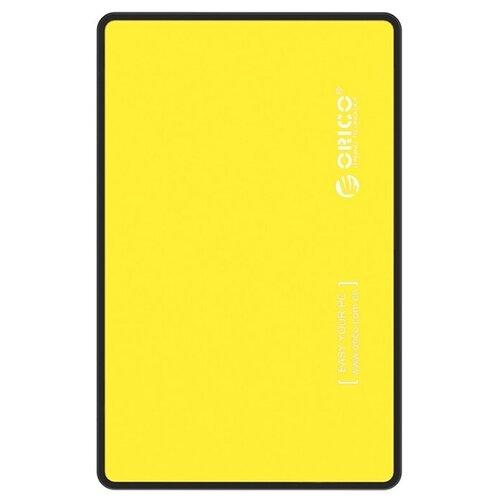 Фото - Корпус для HDD/SSD ORICO 2588US3 желтый корпус 2 5 orico 2588us3 sata usb3 0 black