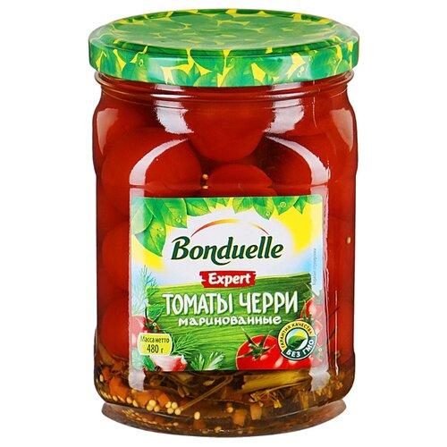 Томаты Expert Черри маринованные Bonduelle стеклянная банка 480 г томаты черри mikado маринованные