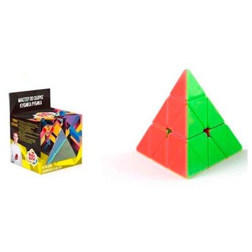 Головоломка Zhorya Куби-Кубс Пирамида (ZYF-0005-1) оранжевый/зеленый