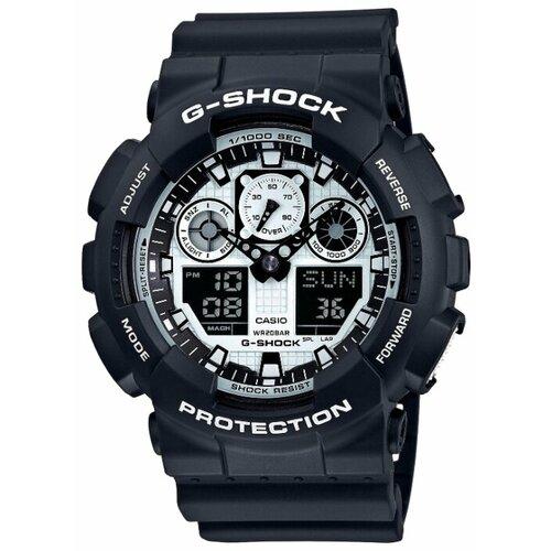 Наручные часы CASIO GA-100BW-1A мужские часы casio ga 100bw 1a