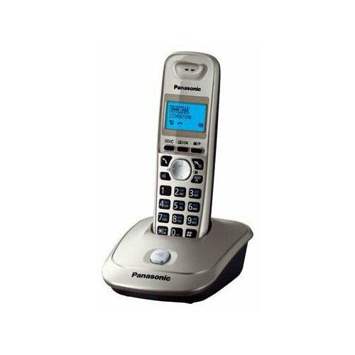 Радиотелефон Panasonic KX-TG2511 платиновый радиотелефон
