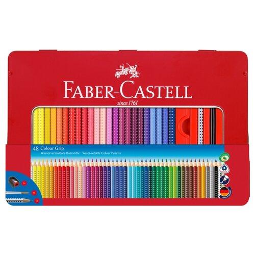 Faber-Castell Цветные карандаши Color Grip (112448) faber castell цветные карандаши faber castell jumbo grip metallic 5 цветов