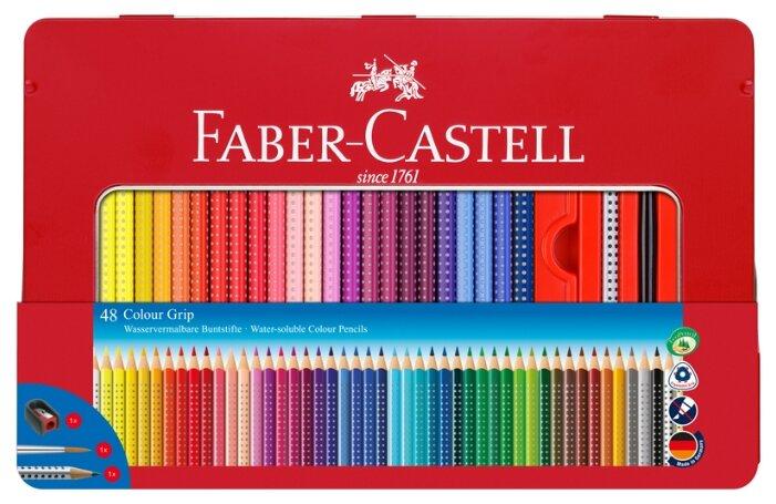 Faber-Castell Цветные карандаши Color Grip (112448)