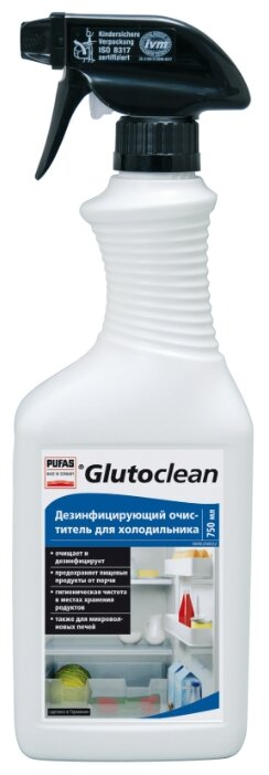 Средство Glutoclean дезинфицирующее для холодильника 750 мл