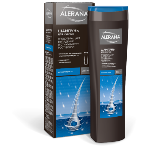 Alerana шампунь мужской Активатор роста 250 мл alerana для роста волос цена