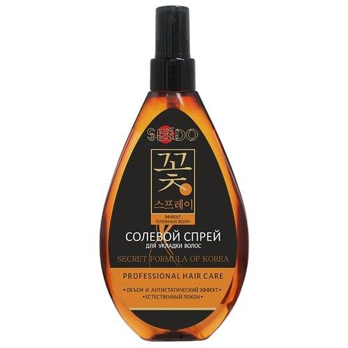 Sendo Солевой спрей для укладки волос, 160 мл