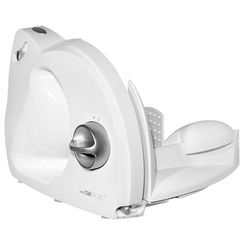 Ломтерезка Clatronic AS 2958 180 Ватт белый/серебристый