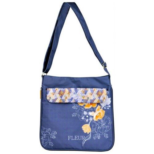 Купить Школьная сумка ErichKrause La'Fleur (39363) синий, Школьные сумки