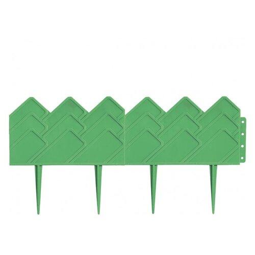 Бордюр PALISAD Кантри, зеленый, 3.1 х 0.14 м