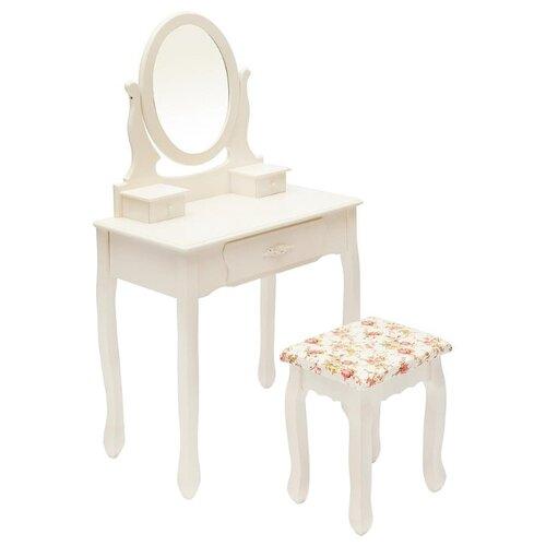 Столик туалетный Secret de Maison Coiffeuse HX15-075, ДхШ: 70 х 40 см, butter white