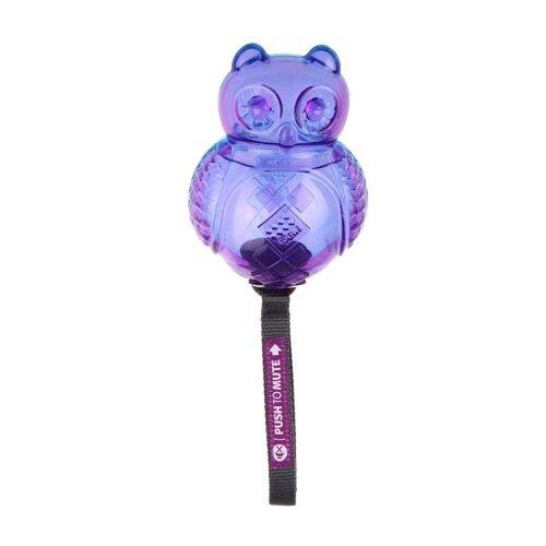 Фото - Игрушка для собак GiGwi Push to mute Сова (75322) фиолетовый игрушка для собак gigwi push to mute сова 75322 фиолетовый