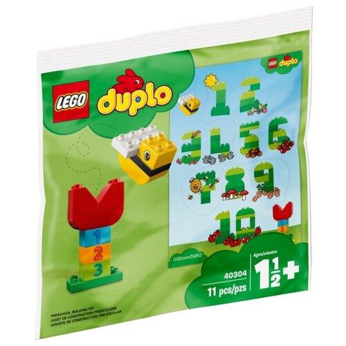 Фото - Конструктор LEGO DUPLO 40304 Учим цифры конструктор lego duplo моя первая минни 10897