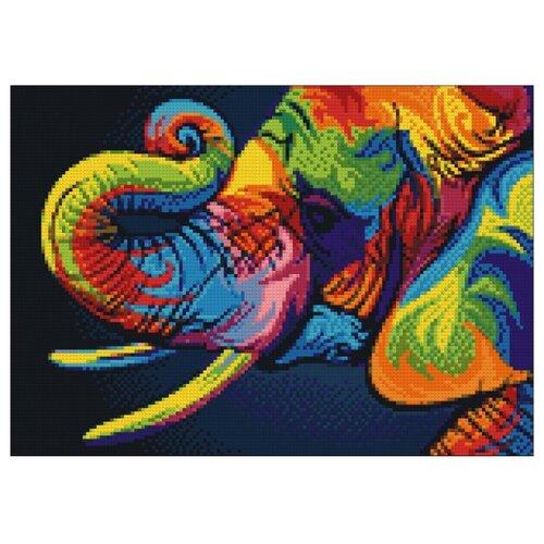 Фото - Гранни Набор алмазной вышивки Радужный слон (Ag 482) 27х38 см гранни набор алмазной вышивки радужный слон ag 482 27х38 см