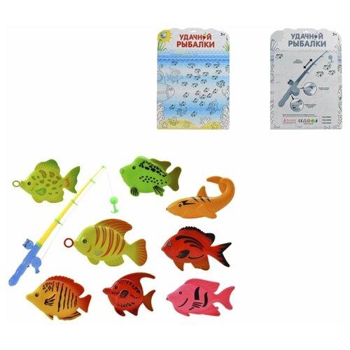 Купить Рыбалка TONG DE Удачной рыбалки 641654 разноцветный, Развитие мелкой моторики
