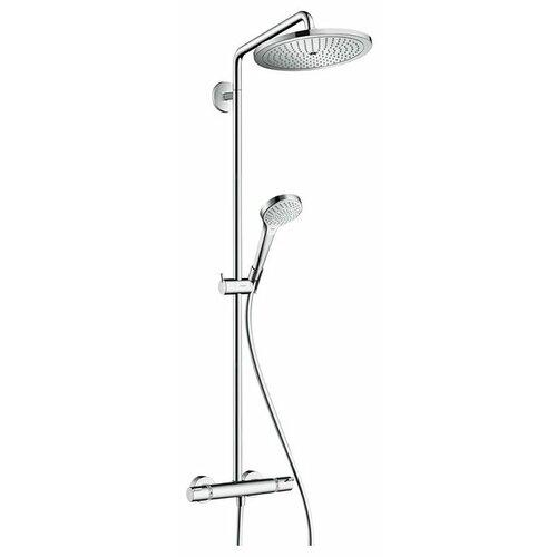 Душевая стойка hansgrohe Croma Select 280 Air 1jet Showerpipe 26790000 хром душевая стойка hansgrohe croma 27352400