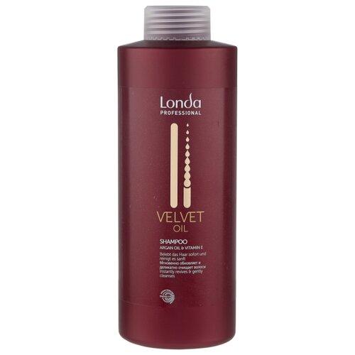 Londa Professional шампунь Velvet Oil 1000 мл londa professional velvet oil conditioner argan oil and vitamin e