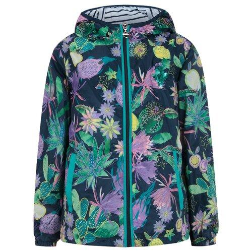 Ветровка INFUNT Lessera 0921113005 размер 122, зеленыйКуртки и пуховики<br>