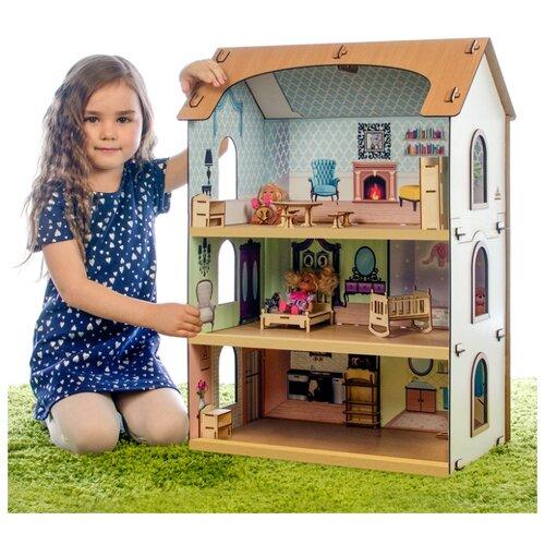 Конструктор «Кукольный домик София» без мебели и кукол