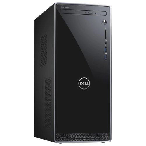 Настольный компьютер DELL Inspiron 3670 (3670-6603) Mini-Tower/Intel Core i7-8700/8 ГБ/128 ГБ SSD+1 ТБ HDD/NVIDIA GeForce GTX 1050 Ti/Linux черный