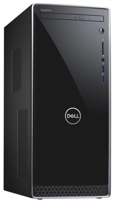 Настольный компьютер DELL Inspiron 3670 (3670-6603) Mini-Tower/Intel Core i7-8700/8 ГБ/128 ГБ SSD/1000 ГБ HDD/NVIDIA GeForce GTX 1050 Ti/Linux