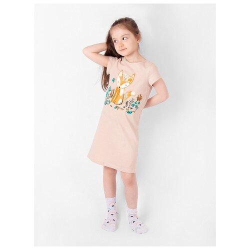 Купить Сорочка RICH LINE размер 128, бежевый, Домашняя одежда