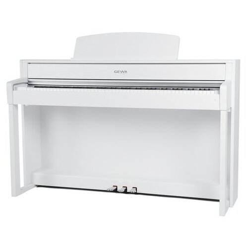Цифровое пианино GEWA UP 380 G wooden keyboard white matt