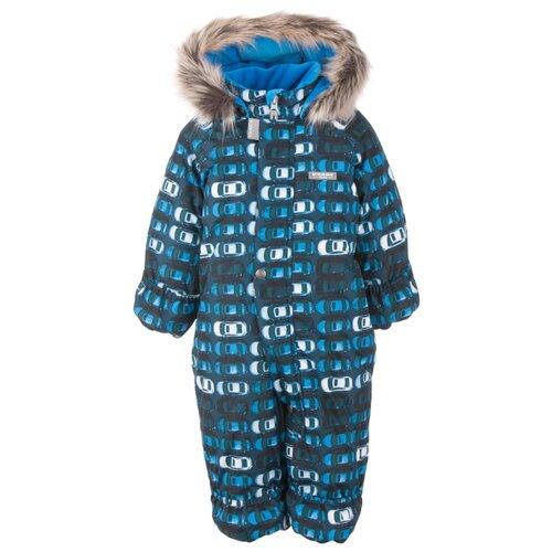 Купить Комбинезон KERRY ZOO K20406 размер 68, 06580 синие машинки, Теплые комбинезоны