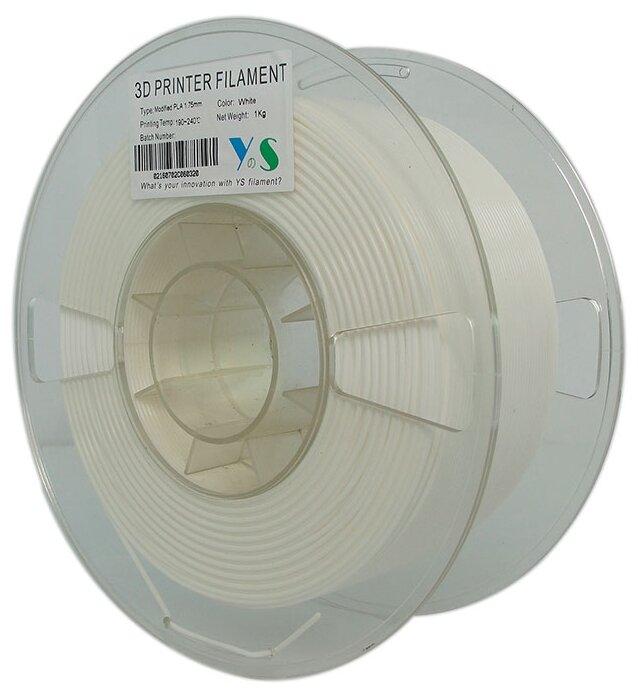 PLA пруток Yousu 1.75мм белый люминисцентный