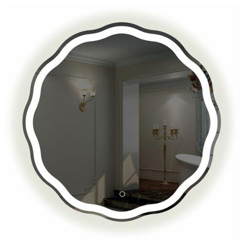 Зеркало La Tezza с LED подсветкой, сенсорный включатель с диммером, IP - 44, 700х700 арт. LT-RS7070-s