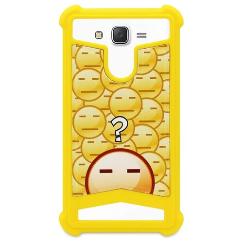 "Чехол ANYLIFE Pekin Style 5"" желтый"