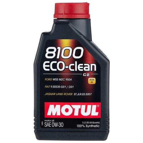 Моторное масло Motul 8100 Eco-clean 0W30 1 л моторное масло motul 8100 eco lite 0w 20 1 л